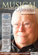 Musical Opinion, Jan-Mar 2014