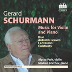 Gerard Schurmann - Music for Violin and Piano