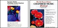 Tucson Winter Chamber Music Festival 1994/95 and 1998
